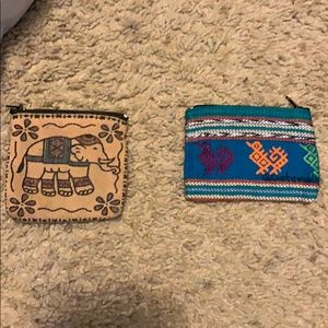 Handbags - Coin pouches from Guatemala and Sri Lanka